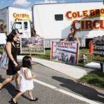 Protesters Unite Against Cole Brothers Circus