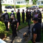 Paws Up: Police Pooch Receives Honorable Sendoff