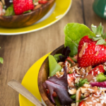 Meat-Free Monday: Spring Salad With Strawberry Dressing