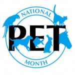 Celebrate National Pet Month!