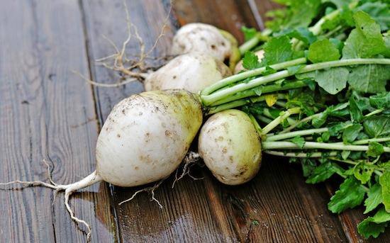 Who wouldn't want a nice serving of turnip greens? Yum. Photo Credit: Shutterstock