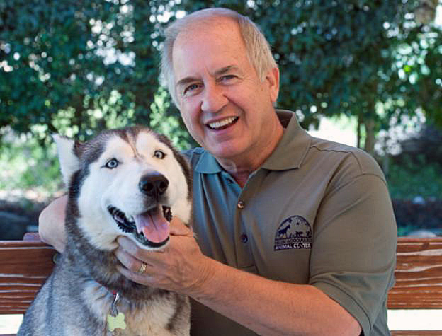 Mike Arns has placed over 9 million pets in homes since 1999. Photo credit: Animalcenter.org